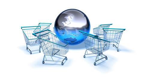 shopping cart world 2 Animation