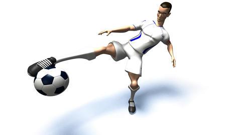 soccer 1b Stock Video Footage