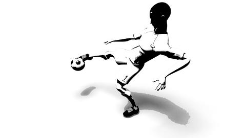 soccer 2b Stock Video Footage