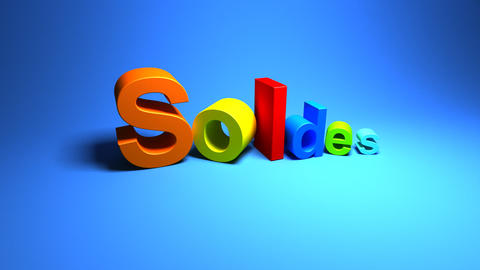 soldes Stock Video Footage