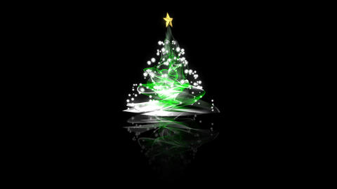christmas tree Stock Video Footage