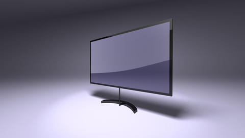 tv plasma Animation