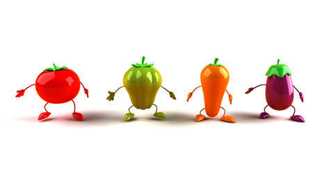 vegetables Animation