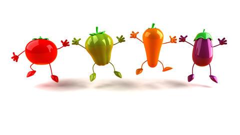 vegetables Stock Video Footage