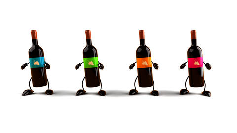 wines dance Animation