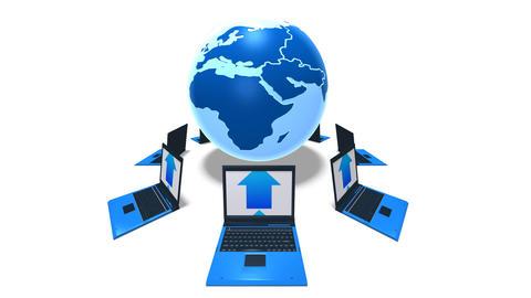 world laptop HD Stock Video Footage