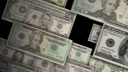 Money Corner Pan Stock Video Footage