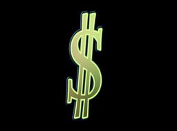 Dollar sign Animation