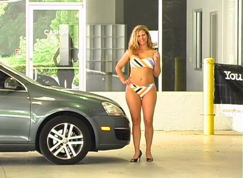 Sexy Mechanic (6) Stock Video Footage