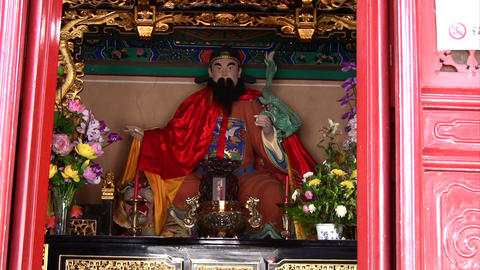 Chinese Temple Stock Video Footage