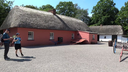 Bunratty Folkpark 4 0 Stock Video Footage