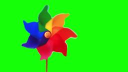 Pinwheel toy Stock Video Footage