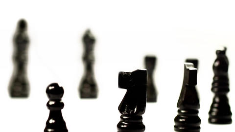 Chess Set's March stock footage