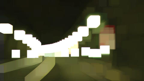 highway abstract light 03 Footage