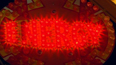 light decoration energy Stock Video Footage