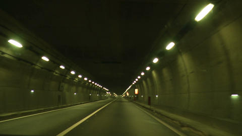 tunnel timelapse 03 Footage