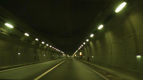 tunnel timelapse 03 Footage
