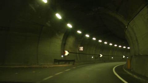 tunnel timelapse 03 Stock Video Footage