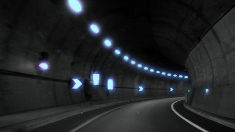 tunnel timelapse 05 Footage