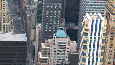 NYC zoom out Stock Video Footage