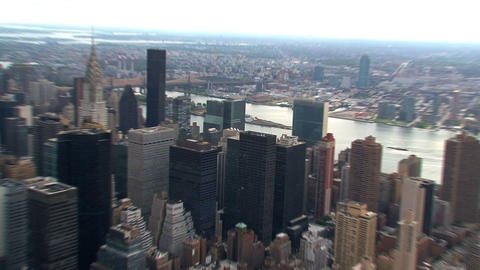 City zoom in Stock Video Footage