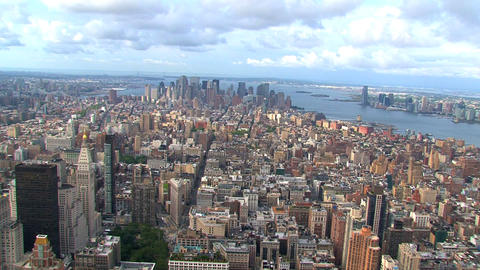 Manhattan Stock Video Footage