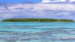 Ocean. Tropical Island Stock Video Footage