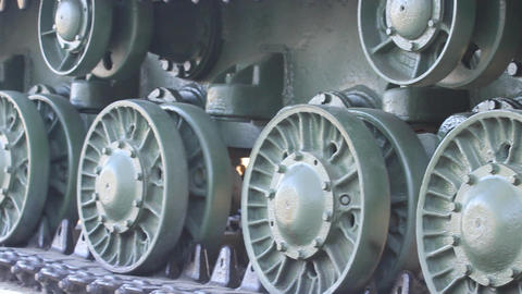 Vintage Tank - Close Up Stock Video Footage