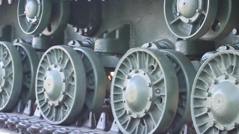Vintage Tank - Close Up Stock Video Footage