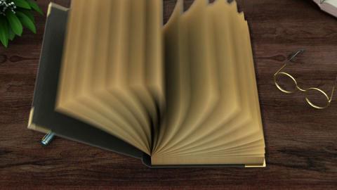 book 2 bibliya Stock Video Footage