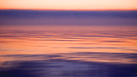 evening sea Stock Video Footage