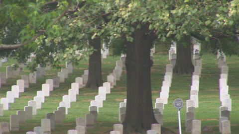 Arlington National Cemetery Stock Video Footage