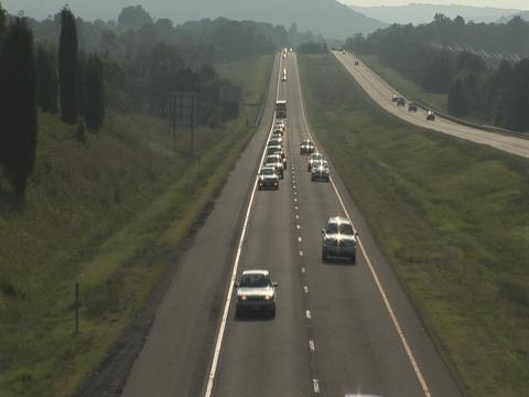 American highway Stock Video Footage