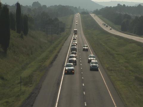American highway Footage