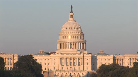 The US Capitol Stock Video Footage