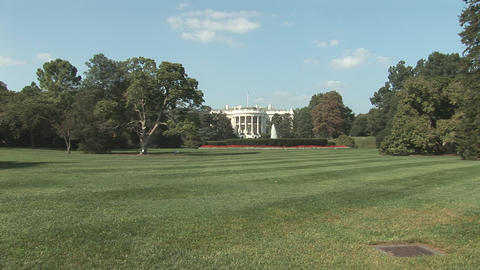 The White House in Washington, DC Stock Video Footage