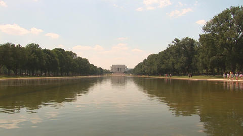 Lincoln Memorial Footage