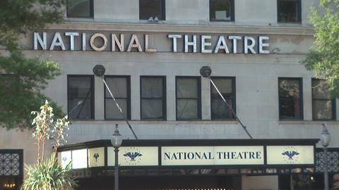 National Theatre Stock Video Footage