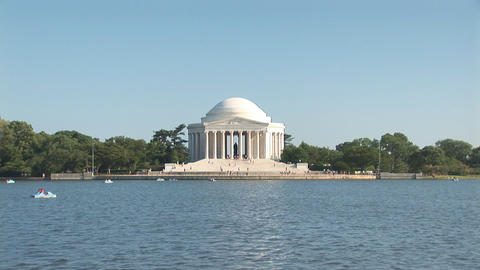Thomas Jefferson Memorial Footage