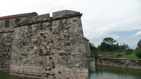 Havana Castillo de la Real Fuerza Stock Video Footage