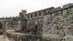 Havana Castillo de la Real Fuerza Stock Video Footage