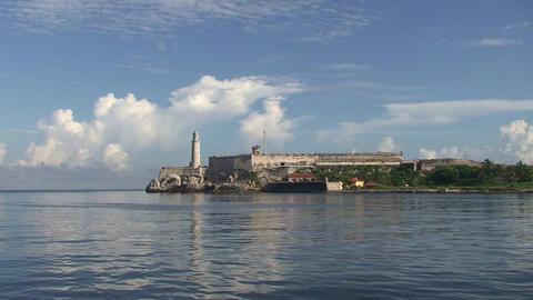 Castillo de Los Tres Santos Reyes Magnos del Morro Stock Video Footage