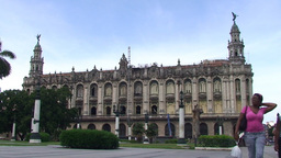 Grand theater of Havana Stock Video Footage