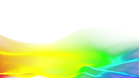 abstract flowing background, wave lower thirds Stock Video Footage