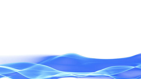 abstract blue flowing background, lower thirds Stock Video Footage