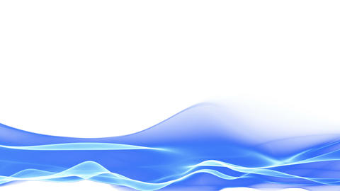 abstract blue flowing background, lower thirds Animation