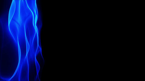 abstract blue flowing background, blurred wave Stock Video Footage