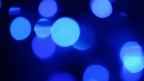 defocused light background, blurred glowing lights Footage