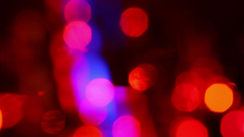 defocused lights abstract background, motion light Footage