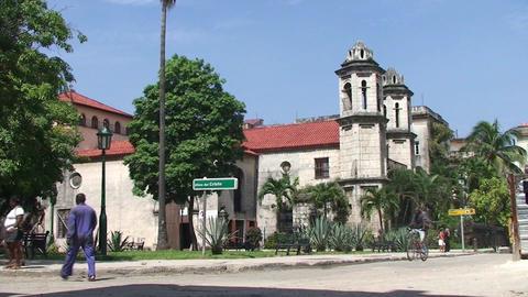 Plaza del Cristo Stock Video Footage